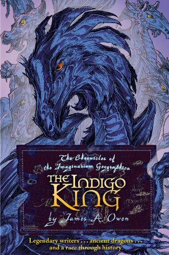 The Indigo King (Signed, with dragon drawing): Owen, James A.