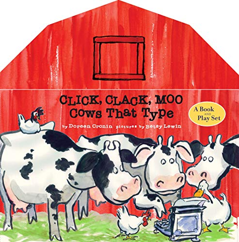 9781416955160: Click, Clack, Moo: A Book and Play Set