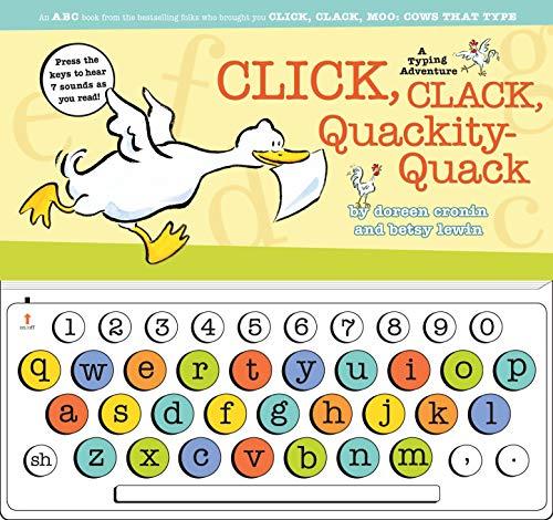 9781416955177: Click, Clack, Quackity-Quack: A Typing Adventure (A Click, Clack Book)