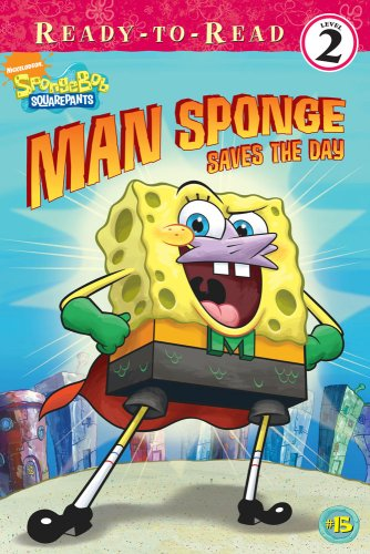 9781416959366: Man Sponge Saves the Day (SpongeBob SquarePants)