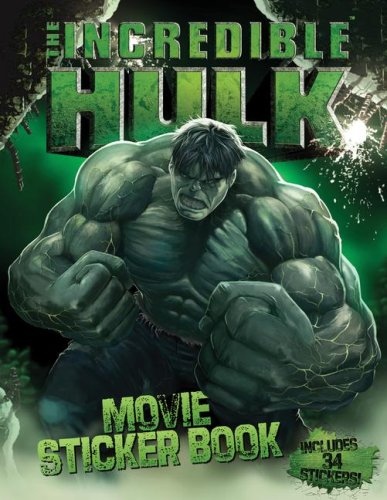 9781416960683: The Incredible Hulk Movie Sticker Book