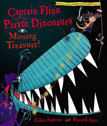 9781416967453: Captain Flinn and the Pirate Dinosaurs: Missing Treasure!