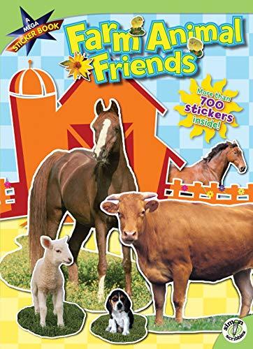 Farm Animal Friends: A Mega Sticker Book: Ciminera, Siobhan