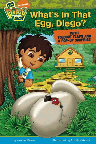 What's in That Egg, Diego? (Go, Diego, Go!) (1416968776) by McMahon, Kara