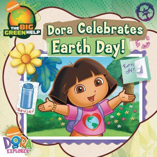 9781416975809: Dora Celebrates Earth Day!: Little Green Nickelodeon (Dora the Explorer)