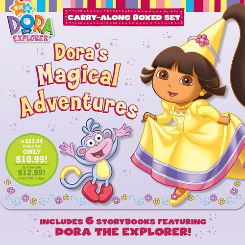 9781416975830: Dora's Magical Adventures: A Carry-Along Boxed Set (Nick JR. Carry-Along Boxed Set) (Dora the Explorer)