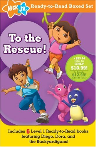 9781416975847: To the Rescue! (Nick Jr. Ready-to-read Boxed Set ...