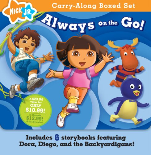 9781416975854: Always on the Go! (Nick Jr. Carry-Along Boxed Set)