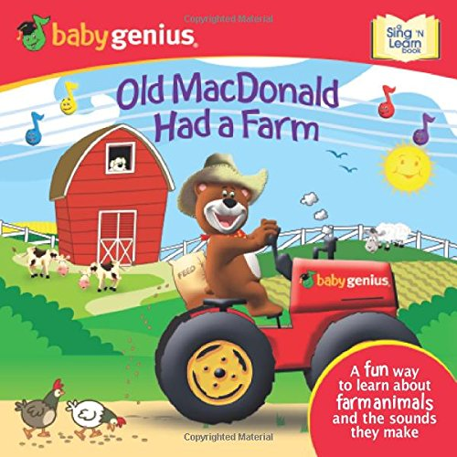 9781416976455: Old MacDonald Had a Farm: A Sing 'n Learn Book (Baby Genius, Sing 'n Learn)