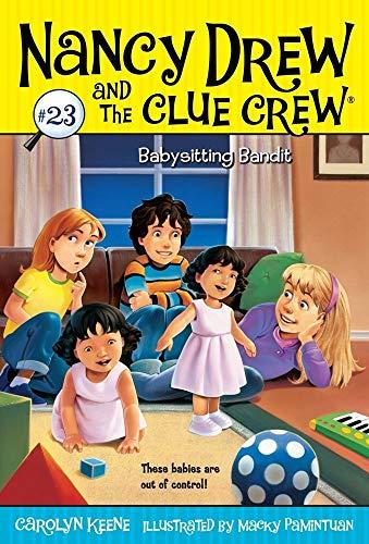 9781416978138: Babysitting Bandit (Nancy Drew and the Clue Crew)