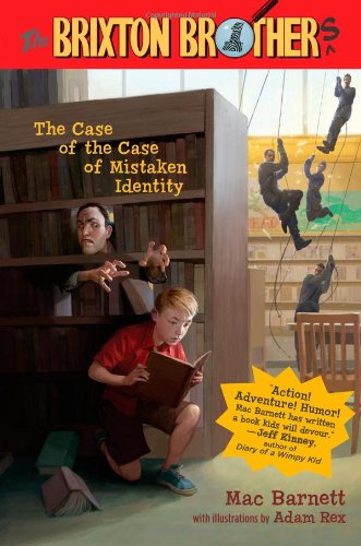 9781416978152: The Case of the Case of Mistaken Identity (Brixton Brothers)