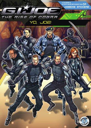 9781416978275: G.I. Joe the Rise of Cobra: Yo, Joe! [With More Than 50 Stickers]