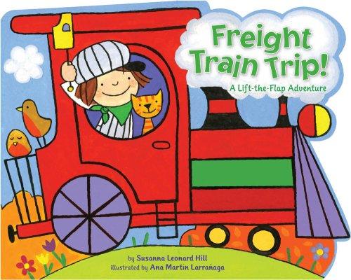 9781416978336: Freight Train Trip!: A Lift-the-Flap Adventure