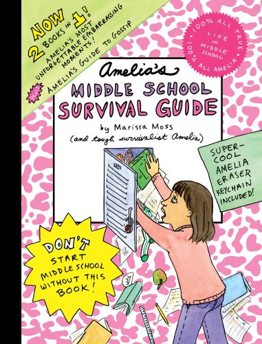 9781416979876: Amelia's Middle School Survival Guide: Amelia's Most Unforgettable Embarrassing Moments, Amelia's Guide to Gossip