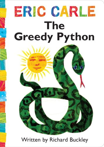 9781416982906: The Greedy Python (The World of Eric Carle)