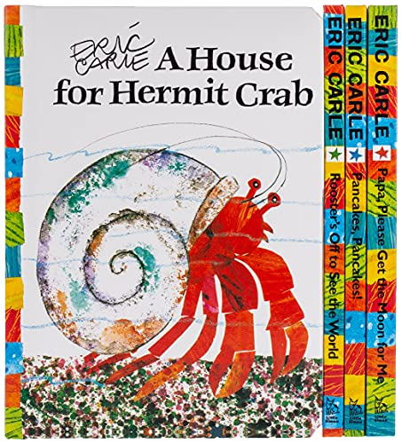 9781416985167: The Eric Carle Mini Library: A Storybook Gift Set (The World of Eric Carle)