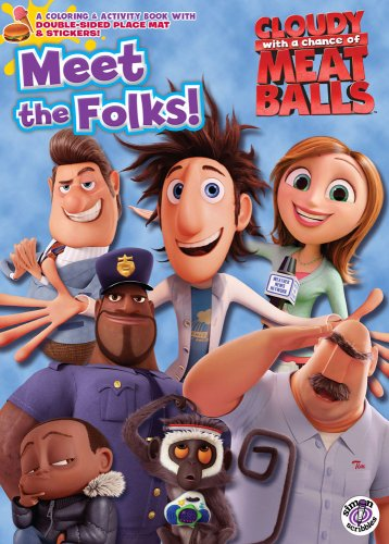 9781416990758: Meet the Folks! (Cloudy with a Chance of Meatballs Movie)