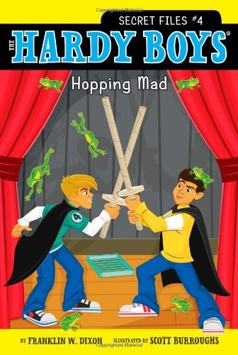 9781416993957: Hopping Mad (Hardy Boys: The Secret Files)