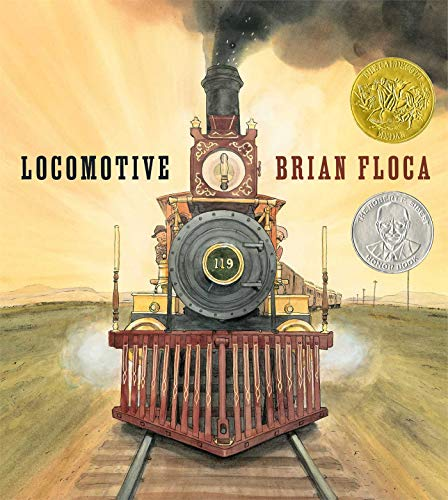 Locomotive (TRUE FIRST - SIGNED): Brian Floca