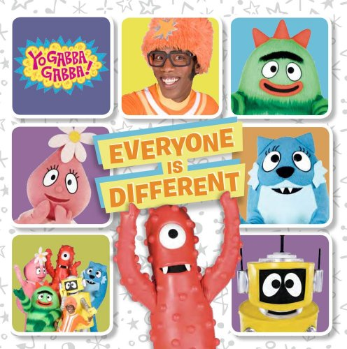 9781416999362: Everyone Is Different (Yo Gabba Gabba!)