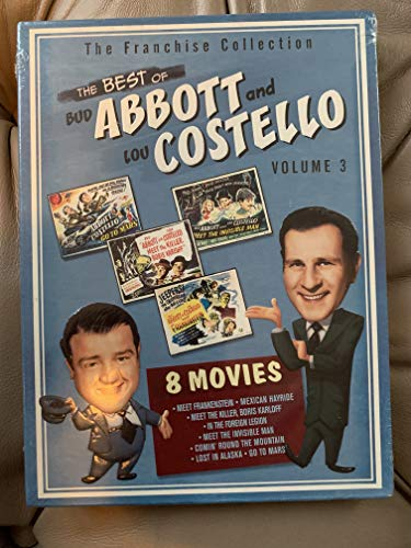 9781417002689: The Best of Abbott & Costello, Vol. 3 (Abbott & Costello Go to Mars / Abbott & Costello in the Foreign Legion / Abbott & Costello Meet Frankenstein / Abbott & Costello Meet the Invisible Man / Abbott & Costello Meet the Killer / Comin' Round the Mountain / Lost in Alaska / Mexican Hayride)
