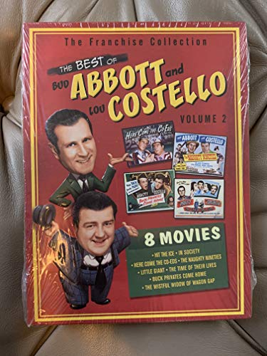9781417003426: The Best of Abbott & Costello, Vol. 2 (Hit the Ice / In Society / Here Come the Co-Eds / The Naughty Nineties / Little Giant / The Time of Their Lives / Buck Privates Come Home / The Wistful Widow of Wagon Gap)
