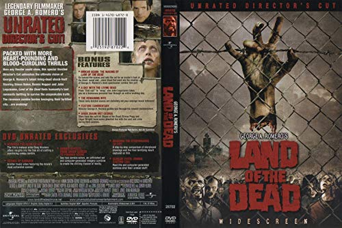 9781417068722: George A. Romero's Land of the Dead: Unrated Director's Cut