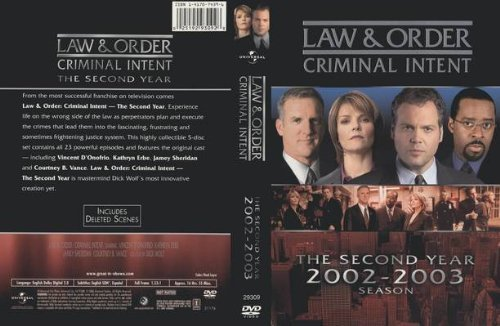 9781417074396: Law & Order: Criminal Intent - The Second Year