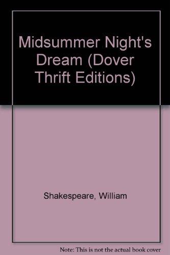 9781417627363: Midsummer Night's Dream (Dover Thrift Editions)