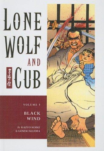 9781417654482: Black Wind (Lone Wolf and Cub (Prebound))