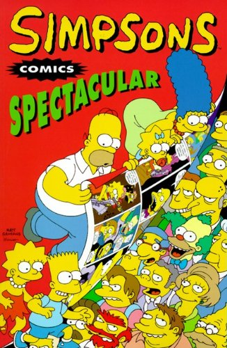 9781417659739: Simpsons Comics Spectacular (Turtleback School & Library Binding Edition) (Simpsons Compilation (Prebound))