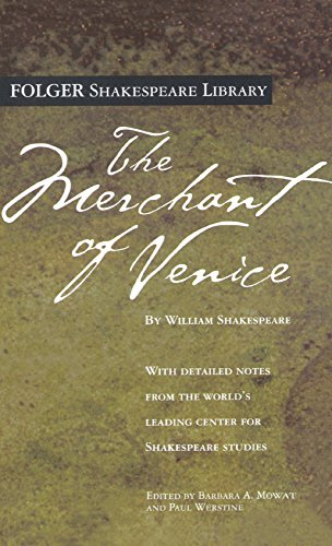 9781417666638: The Merchant Of Venice (Turtleback School & Library Binding Edition) (Folger Shakespeare Library)