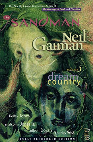 the sandman volume 3 dream country 30th anniversary edition the sandman dream country