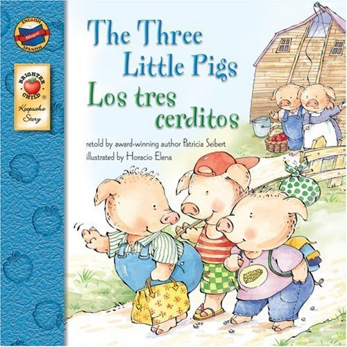 9781417688784: The Three Little Pigs/Los Tres Cerditos (Turtleback School & Library Binding Edition) (Brighter Child: Keepsake Stories (Bilingual))