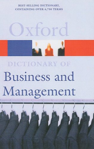 9781417697397: A Dictionary of Business and Management (Turtleback School & Library Binding Edition) (Oxford Paperback Reference)