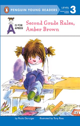9781417705481: Second Grade Rules, Amber Brown (Turtleback School & Library Binding Edition) (A is for Amber; Easy-To-Read)