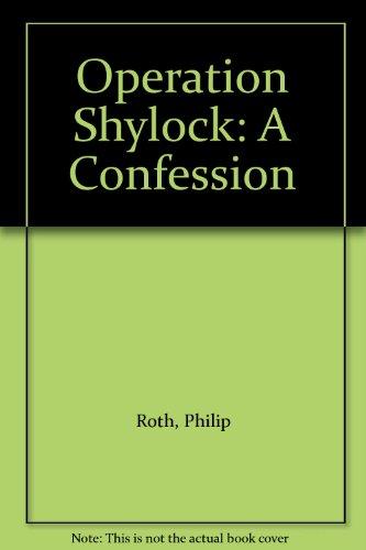 9781417718993: Operation Shylock: A Confession