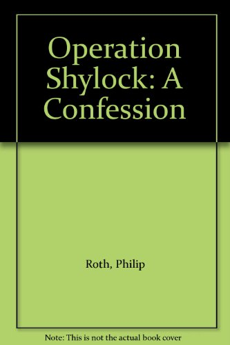 9781417718993: Operation Shylock: A Confession