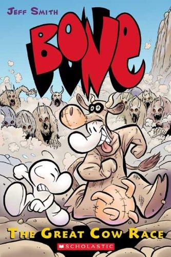 9781417727063: The Great Cow Race (Turtleback School & Library Binding Edition) (Bone)