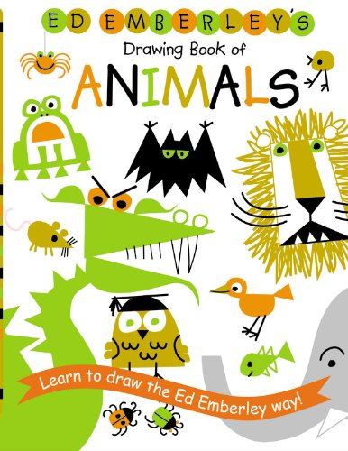 9781417734023: Ed Emberley's Drawing Book of Animals (Ed Emberley Drawing Books)