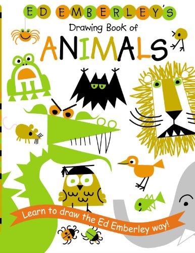 Ed Emberley's Drawing Book of Animals (Prebound): Ed Emberley