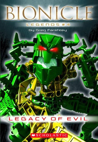 9781417734337: Legacy of Evil (Bionicle Legends)