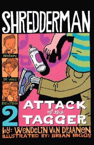 9781417734955: Attack Of The Tagger (Turtleback School & Library Binding Edition) (Shredderman)