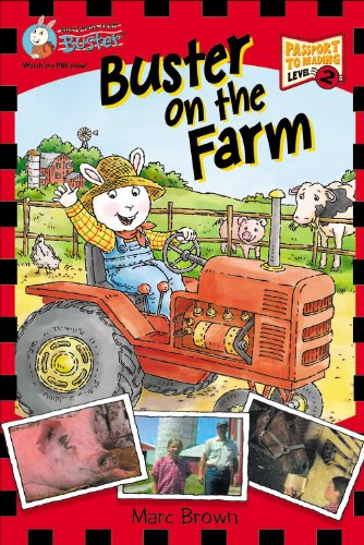 9781417737147: Buster On The Farm (Turtleback School & Library Binding Edition) (Postcards from Buster)