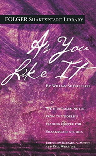 9781417740949: As You Like It (Folger Shakespeare Library)