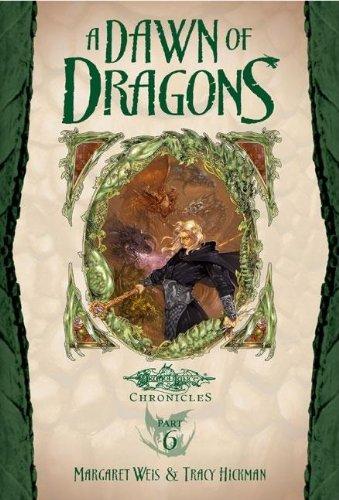 9781417747436: A Dawn of Dragons (Turtleback School & Library Binding Edition) (Dragonlance Novel: Dragonlance Chronicles (Youth))