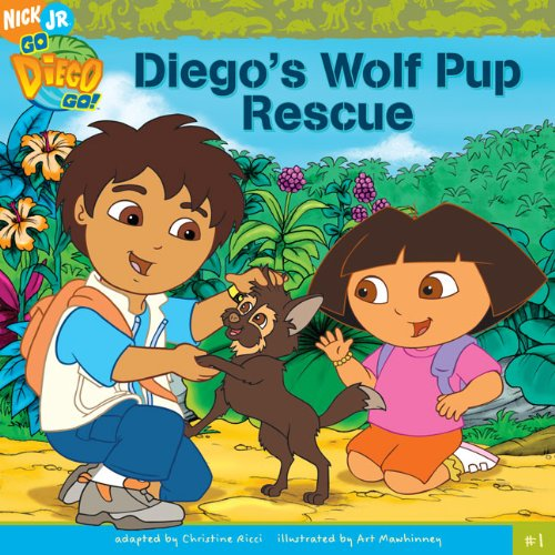 9781417765140: Diego's Wolf Pup Rescue (Turtleback School & Library Binding Edition) (Go Diego Go!)