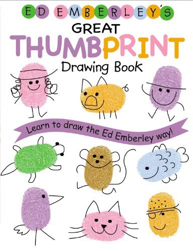 Ed Emberley's Great Thumbprint Drawing Book (Turtleback School & Library Binding Edition) (Ed Emberley Drawing Books) (1417768673) by Ed Emberley