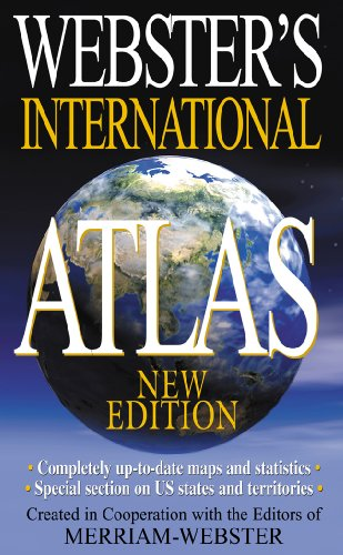 Webster's International Atlas, New Edition (Turtleback School & Library Binding Edition) (1417774592) by Merriam-Webster