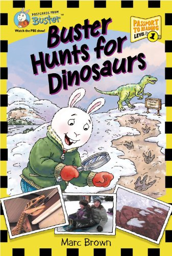 9781417776948: Buster Hunts For Dinosaurs (Turtleback School & Library Binding Edition)